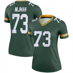 Yosh Nijman Green Bay Packers Women's Legend Nike Jersey - Green