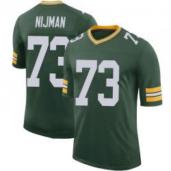 Yosh Nijman Green Bay Packers Youth Limited 100th Vapor Nike Jersey - Green
