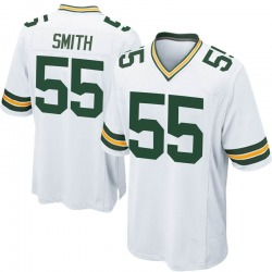 Za'Darius Smith Green Bay Packers Men's Game Nike Jersey - White