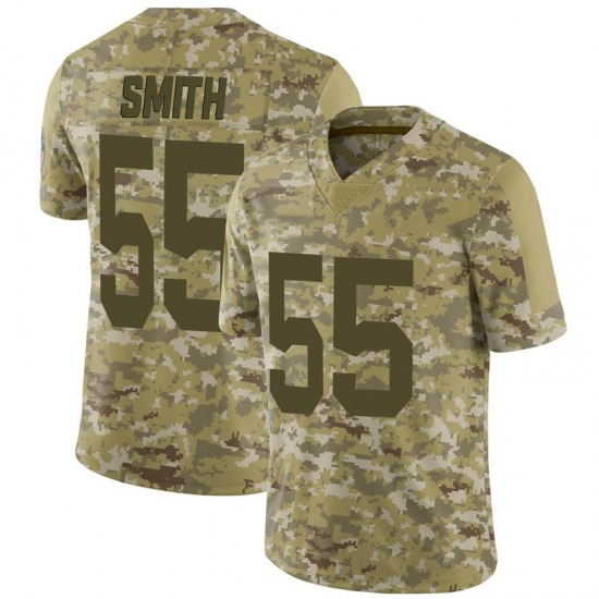 Za'Darius Smith Green Bay Packers Youth Limited 2018 Salute to Service Nike Jersey - Camo