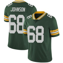 Zack Johnson Green Bay Packers Men's Limited Team Color Vapor Untouchable Nike Jersey - Green